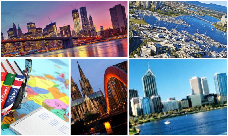 Yurt Dışı Dil Eğitimi Alabileceğiniz Şehirler