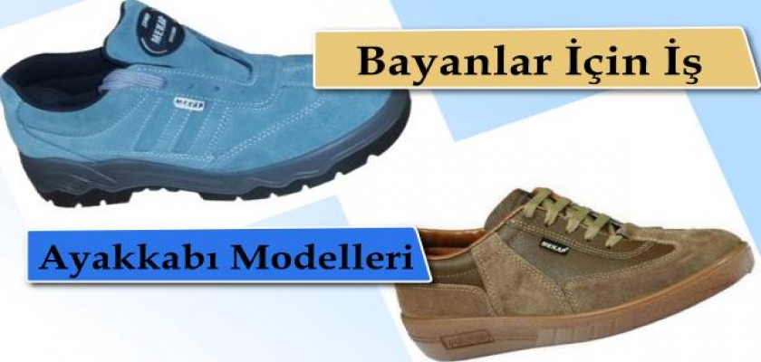 Bayanlar İçin İş Ayakkabıları Modelleri