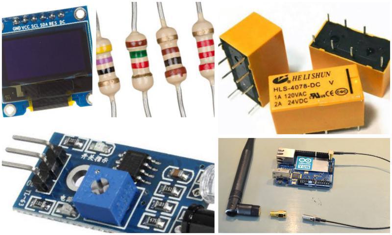 Elektronik Komponent Çeşitleri Nerede Bulunur?